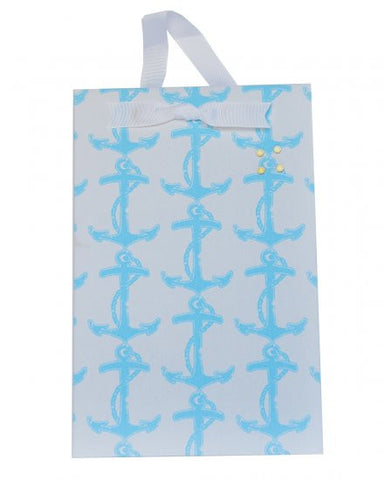 Magnet Board-Small - Light Blue Anchor