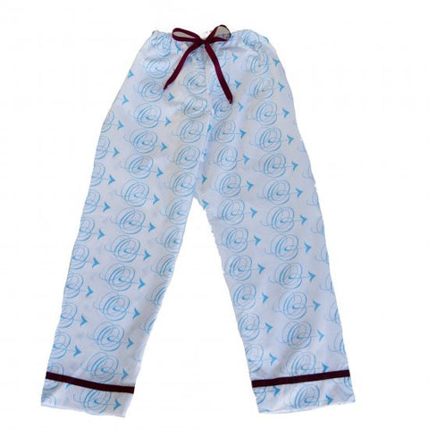 Pajama Pants - Blue Arrow
