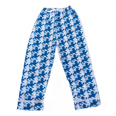 Pajama Pants - Blue Lion