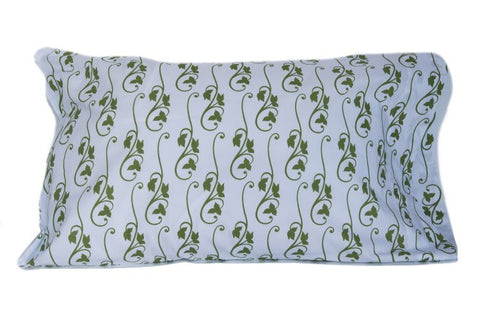 Pillow Case - Green Ivy
