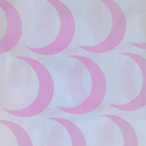 Duvet Cover - Twin - Pink Crescent Moon