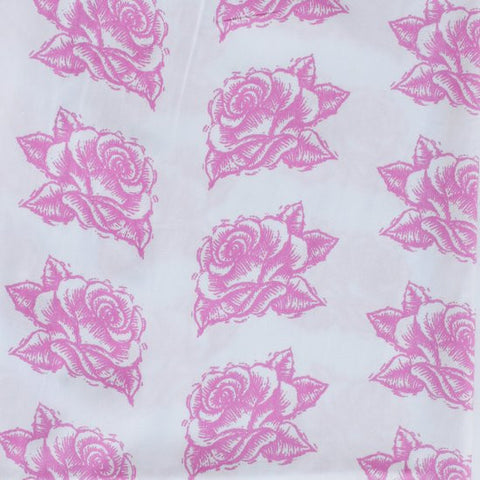 Duvet Cover - Twin - Pink Rose