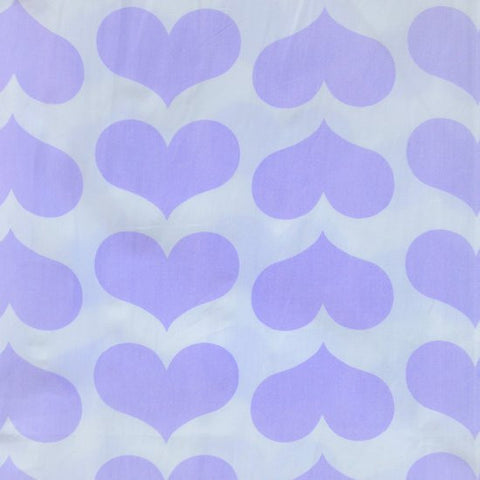 Duvet Cover - Twin - Lavender Heart