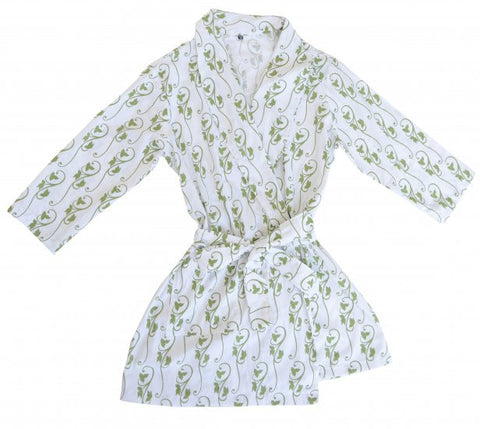 Robe - Green Ivy