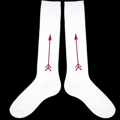 Socks - Wine Arrow