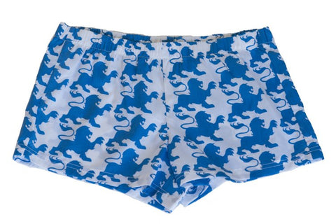 Boxer Shorts - Blue Lion