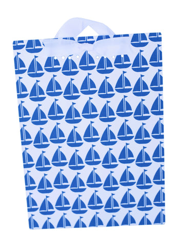 Magnet Board-Large - Navy Sailboat
