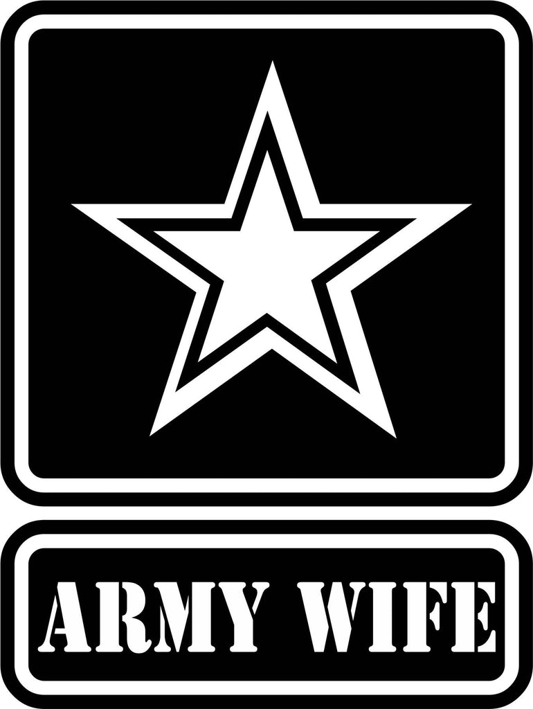 U.S. Army Wife Vinyl Decal