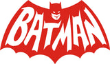 Batman Classic TV Logo Vinyl Decal