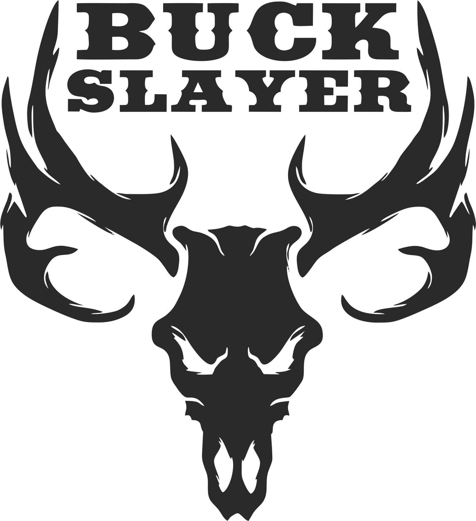Buck Slayer Vinyl Decal