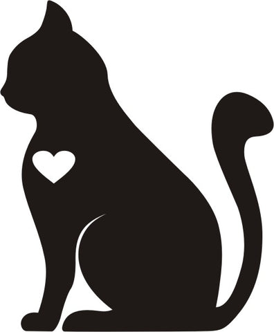 Cat Lover 2 Vinyl Decal