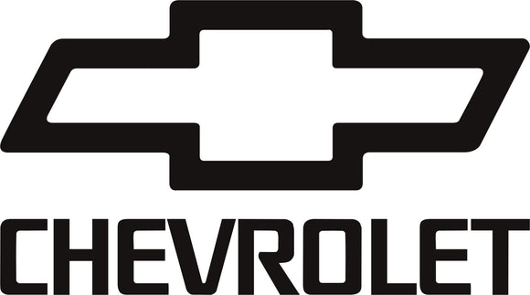 Chevrolet Bow Tie Vinyl Decal