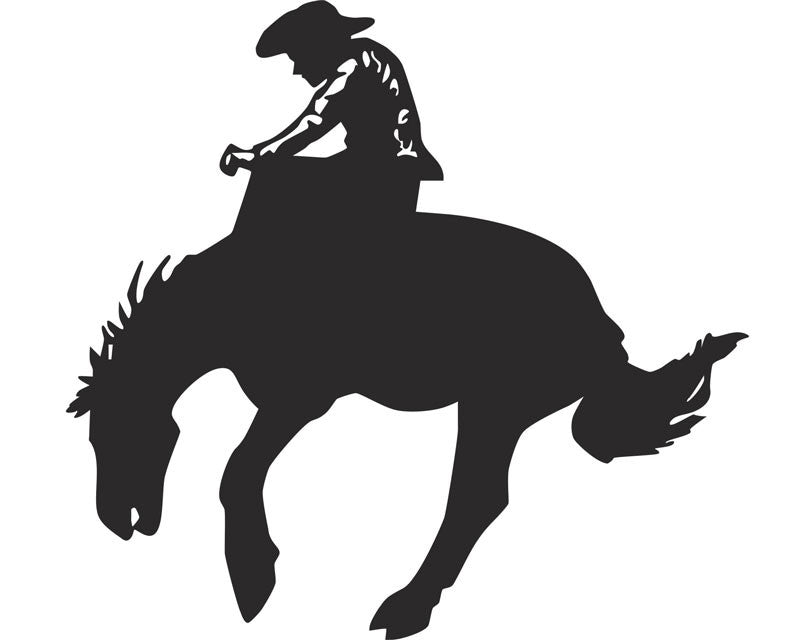 Cowboy Rodeo Vinyl Decal
