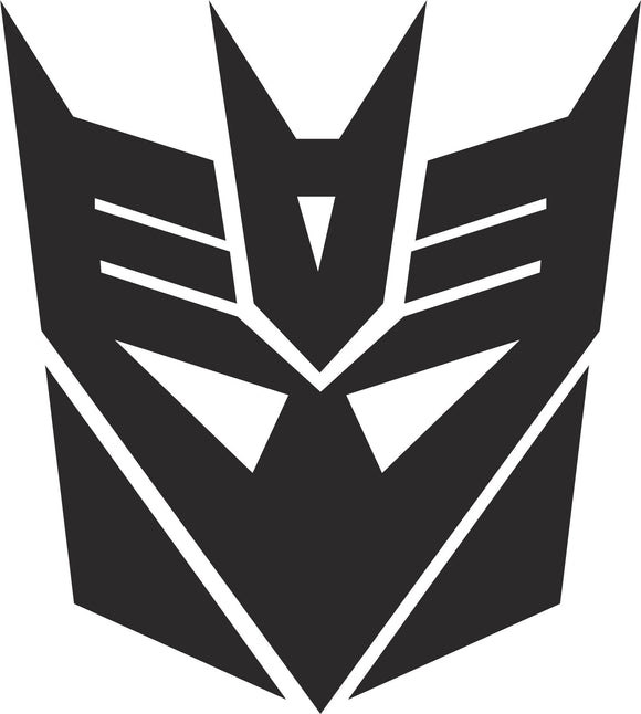 Decepticon Logo Vinyl Decal Sticker Label
