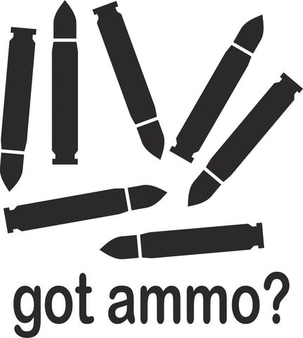Got Ammo Vinyl Decal