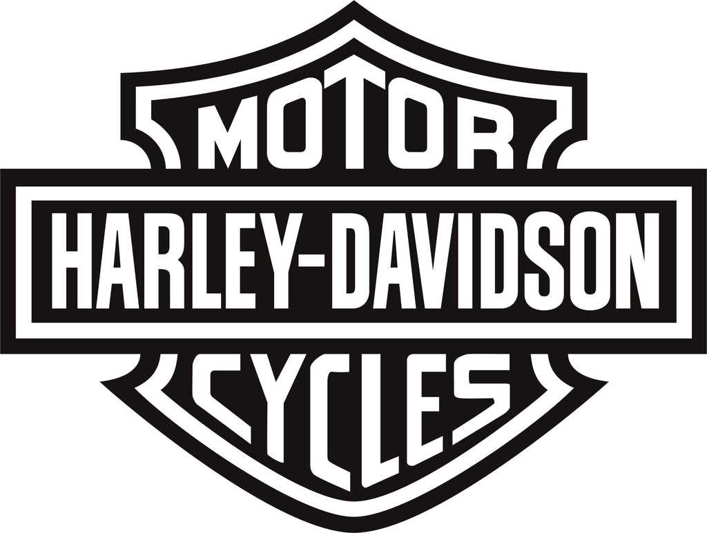 Harley Davidson Motorcycle Vinyl Decal