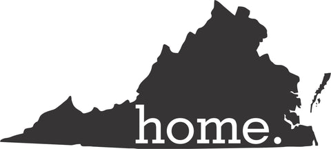 Home is Virginia Vinyl Decal