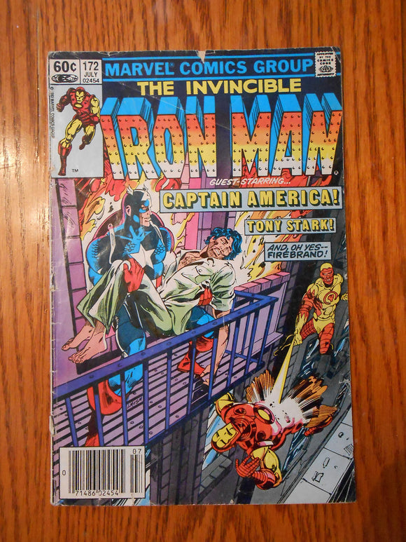Iron Man, The Invincible 172 Marvel Comics