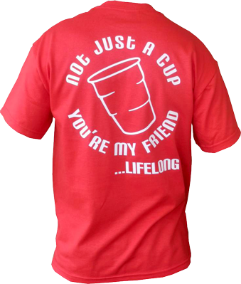 Red Solo Life Long Friend T-Shirt