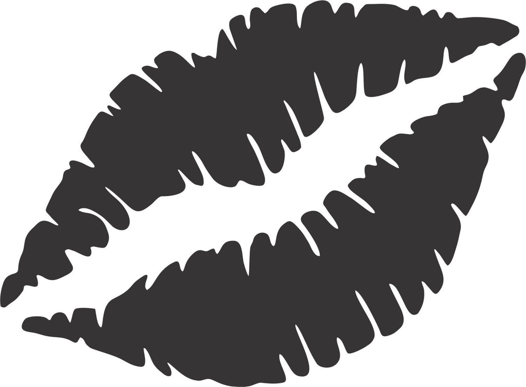 Kissable Lips Vinyl Decal