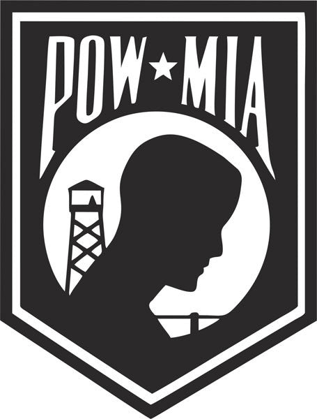 POW MIA Vinyl Decal