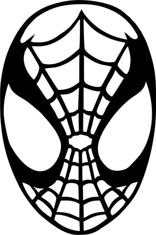 Spiderman Vinyl Decal