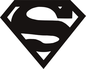 Superman Logo Vinyl Decal