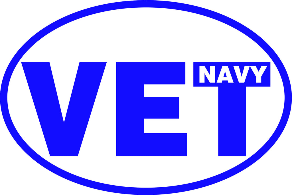 Navy Veteran Vinyl Decal