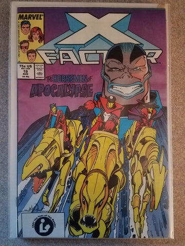 X Factor 19 The Horsemen of Apocalypse Marvel