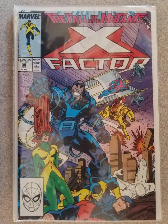 X Factor 25 Marvel Comics