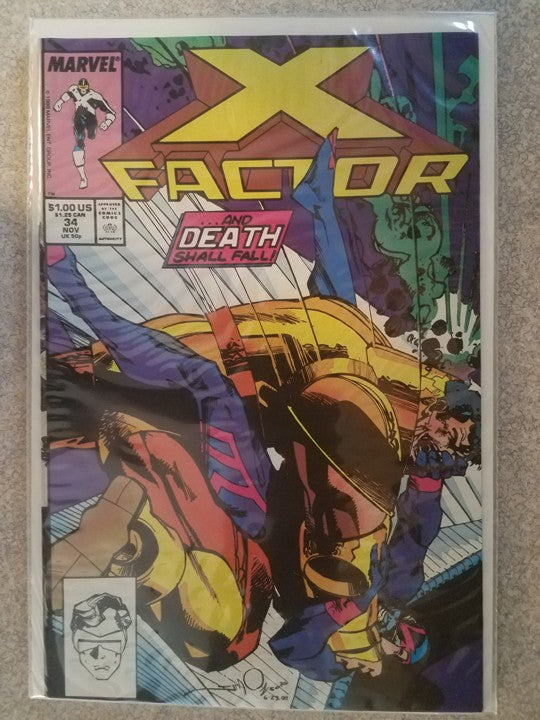 X Factor 34 Marvel Comics