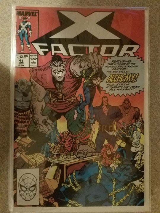 X Factor 41 Marvel Comics