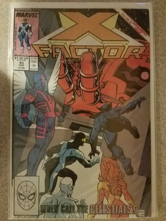 X Factor 43 Marvel Comics