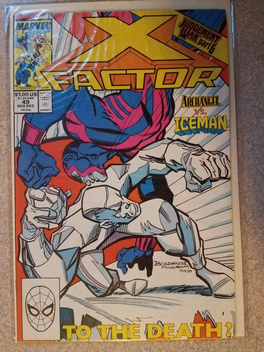 X Factor 49 Marvel Comics