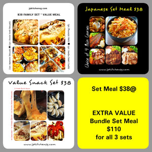EXTRA VALUE ~ BUNDLE SET MEAL
