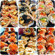 Load image into Gallery viewer, 24-pc JUMBO MAKI SUSHI (PREMIUM PLATTER)