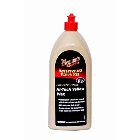 Meguiar's Mirror Glaze Professional 26 Hi- Tech Yellow Wax (1 Ltr)
