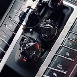 New Bulldog Car Perfume Diffuser Auto Vents, Satin Black