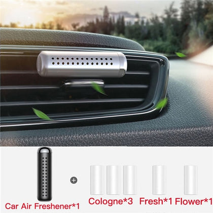 B-US Solid Car Perfume Metal Diffuser Aromatherapy Vent Clip