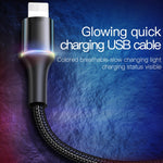 Baseus USB Cable For iPhone Lightning Fast 2.4 A 1m