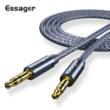 ESS Gold Plated Aux Cable 3.5mm, Length 1.2mtr