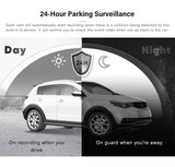 70mai Dash Cam Pro HD  WiFi DVR Voice Control 24H Parking Monitor