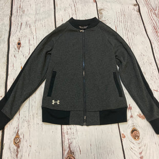 Primary Photo - BRAND: UNDER ARMOUR STYLE: ATHLETIC JACKET COLOR: GREY SIZE: XS SKU: 217-217196-691