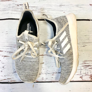 Primary Photo - BRAND: ADIDAS STYLE: SHOES ATHLETIC COLOR: GREY SIZE: 7 SKU: 217-217196-423