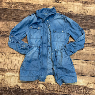 Primary Photo - BRAND: MICHAEL BY MICHAEL KORS STYLE: JACKET OUTDOOR COLOR: DENIM SIZE: M SKU: 217-217104-35806