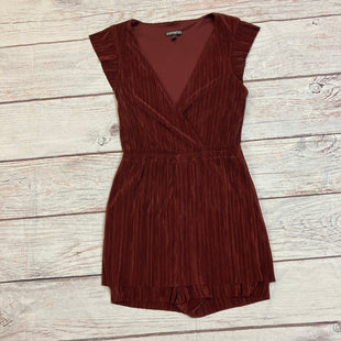 Primary Photo - BRAND: EXPRESS STYLE: DRESS SHORT SHORT SLEEVE COLOR: BURGUNDY SIZE: XS SKU: 257-257100-879