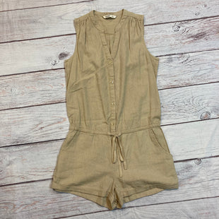 Primary Photo - BRAND: OLD NAVY STYLE: DRESS SHORT SLEEVELESS COLOR: CREAM SIZE: S OTHER: ROMPERSKU: 217-217155-309