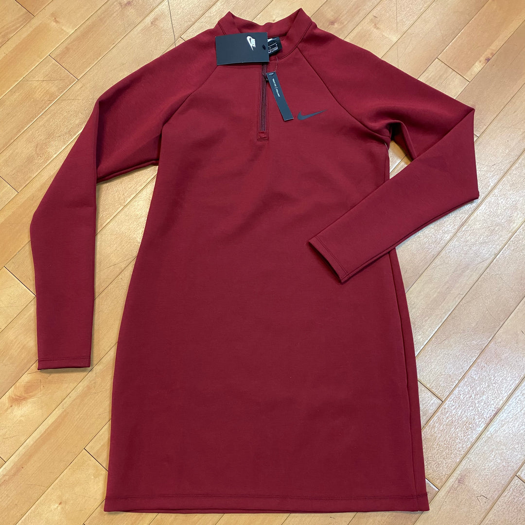 Primary Photo - BRAND: NIKE <BR>STYLE: DRESS SHORT LONG SLEEVE <BR>COLOR: RED <BR>SIZE: L <BR>OTHER INFO: NEW! $75.00 <BR>SKU: 217-217182-2947