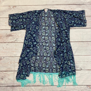 Primary Photo - BRAND: LULAROE STYLE: COVERUP COLOR: FLORAL SIZE: S OTHER INFO: NWT TEAL/BLU SKU: 217-217144-9523
