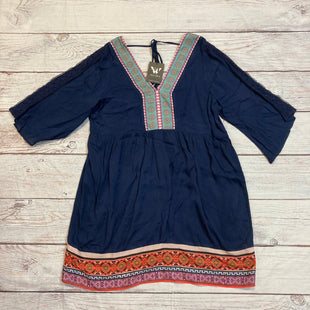 Primary Photo - BRAND: WHITE MARKSTYLE: DRESS SHORT LONG SLEEVE COLOR: NAVY SIZE: L SKU: 257-25748-5719
